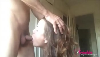 Amateur asian madonna rented a white cock