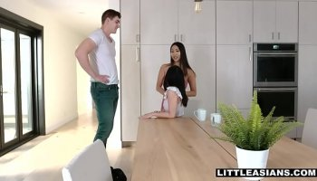 Elder brother seduced his sweet younger sister