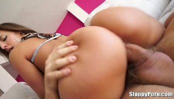 Sexy big tits MILF seduces her stepdaughter's sweetheart boy