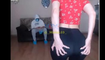 My stepmother Tegan James seduces principal in our house